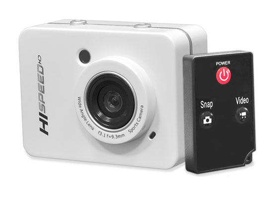 Pyle - PSCHD60WT , Gadgets and Handheld , Cameras - Videocameras , Hi-Speed HD 1080P Hi-Res  Action Camera Digital Camera/Camcorder with Full HD Video, 12.0 Mega Pixel Camera & 2.4'' Touch Screen (White Color)