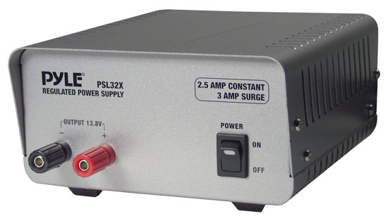 Pyle - PSL32X , Home and Office , Power Supply - Converters , On the Road , Power Supply - Converters , 2.5 Amp Linear Power Supply AC/DC