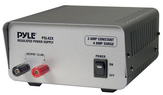 Pyle - PSL42X , Home Audio / Video , Power Supplies , 3 Amp Linear Power Supply AC/DC
