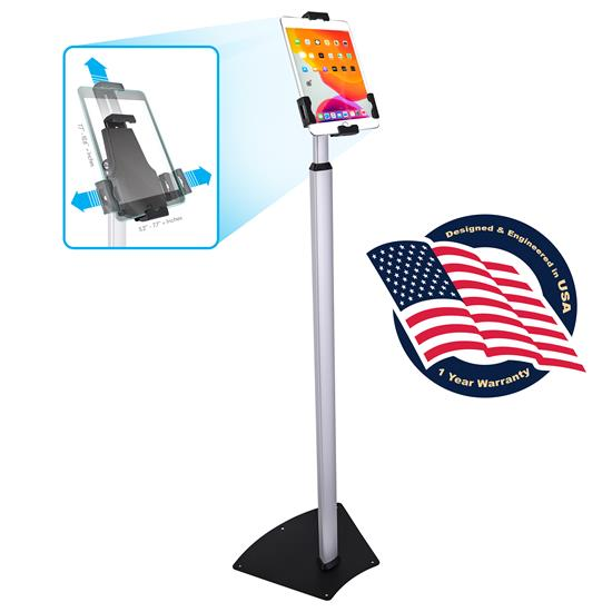 Pyle - PSPADLK62 , Musical Instruments , Mounts - Stands - Holders , Sound and Recording , Mounts - Stands - Holders , Anti-Theft iPad/Tablet Security Stand - Universal Tamper Proof Public Display Mount (Compatible with iPads Mini/1/2/3/4/Air/Air2)
