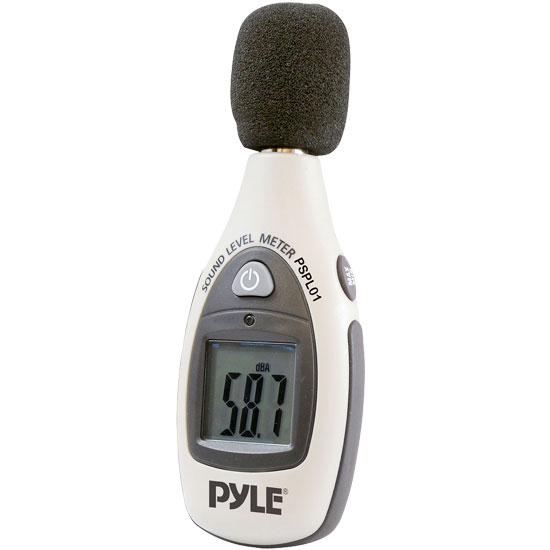 Pyle - PSPL01 , DJ Equipment , Pro DJ Accessories , Mini Digital Sound Level Meter
