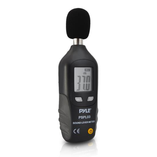 Pyle - PSPL03 , Personal Electronics , Meters & Testers , Mini Sound Level Meter with A Frequency Weighting