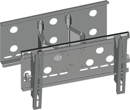 "Pyle - PSPSW116S , Musical Instruments , Mounts - Stands - Holders , Sound and Recording , Mounts - Stands - Holders , 23""-37"" Flat Panel TV Articulating Wall Mount"