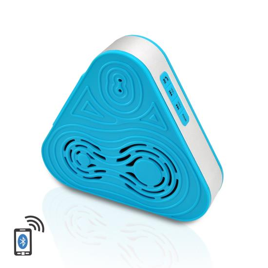 Pyle - PSRB8BL , Sports and Outdoors , Portable Speakers - Boom Boxes , Tri-Way Clear Sound Bluetooth Wireless Waterproof Shower Speaker & Hands Free Speaker-phone W/ AUX IN (Blue Color)