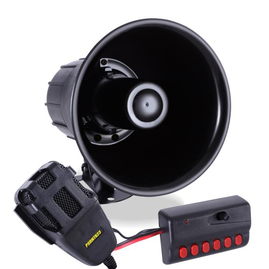Pyle - PSRNTK23.5 , On the Road , Alarm - Security Systems , Siren Horn Speaker System with Handheld PA Microphone