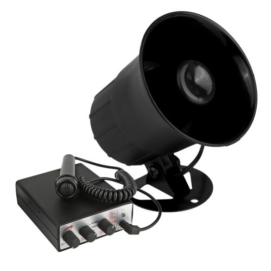 Pyle - PSRNTK28 , On the Road , Alarm - Security Systems , Siren Horn Speaker System with Handheld PA Microphone