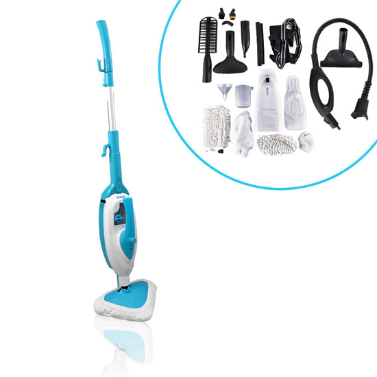 Pyle - PSTMP20 , Home and Office , Vacuums - Steam Cleaners , Pure Clean Multi-Purpose and Multi-Surface Steam Floor Mop and Detachable Handheld Steamer