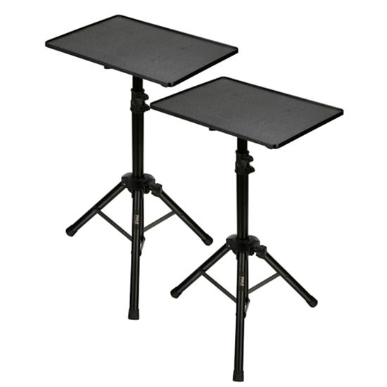 Pyle - PSTND2X2 , Musical Instruments , Mounts - Stands - Holders , Sound and Recording , Mounts - Stands - Holders , Universal Tripod Speaker Stand -  Mount Holder, Height Adjustable, 6' Ft., (Pair)