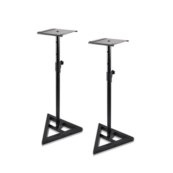 Pyle - PSTND35.0 , Musical Instruments , Mounts - Stands - Holders , Sound and Recording , Mounts - Stands - Holders , Studio Speaker Stands - Pro Audio Bookshelf / Monitor Speaker Stand Mounts (Height Adjustable)