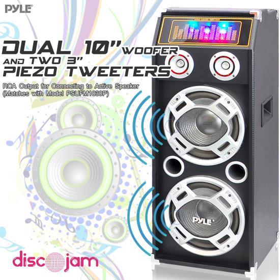 Portable PA Loudspeakers System - Cabinet Speakers
