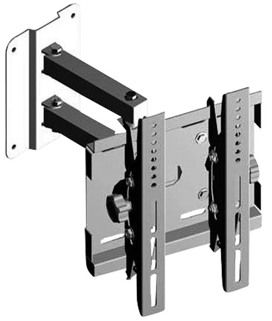 Pyle - PSW115 , Musical Instruments , Mounts - Stands - Holders , Sound and Recording , Mounts - Stands - Holders , 17'' - 23'' Flat Panel TV Cantilever Wall Mount Brackets