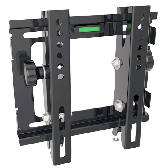 Pyle - PSW445T , Musical Instruments , Mounts - Stands - Holders , Sound and Recording , Mounts - Stands - Holders , 14'' to 37'' Flat Panel Tiltable TV Wall Mount