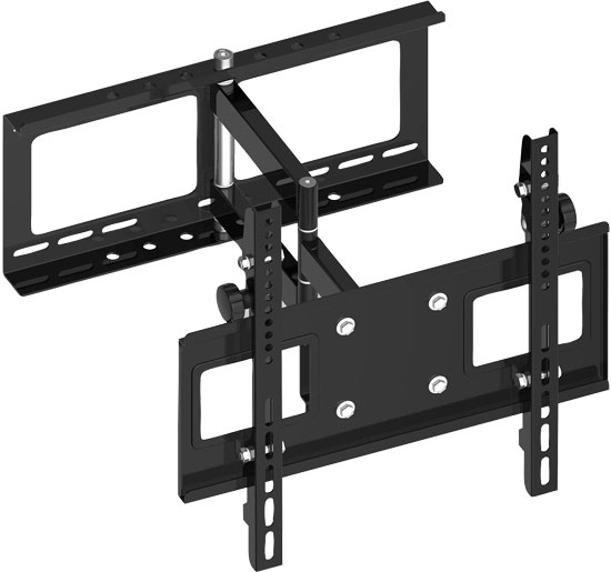 Pyle - PSW770 , Musical Instruments , Mounts - Stands - Holders , Sound and Recording , Mounts - Stands - Holders , 23''to 42'' Flat Panel Steel Solid Articulating TV Wall Mount