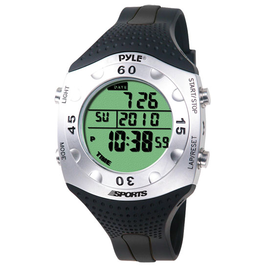 Pyle - PSWDV60BK , Sports and Outdoors , Watches , Gadgets and Handheld , Watches , Advanced Dive Meter With Water Depth, Temperature, Dive Log, Auto EL Backlight
