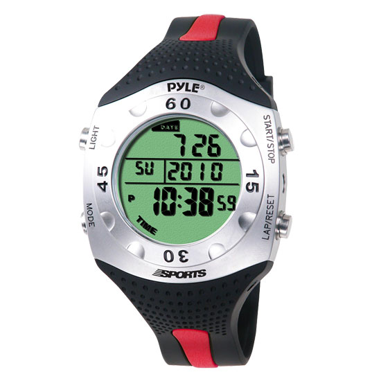 Pyle - PSWDV60R , Sports and Outdoors , Watches , Gadgets and Handheld , Watches , Advanced Dive Meter With Water Depth, Temperature, Dive Log, Auto EL Backlight