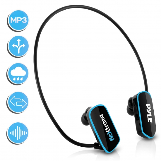 Pyle - PSWP6BK , Gadgets and Handheld , Headphones - MP3 Players , Sound and Recording , Headphones - MP3 Players , Flextreme Waterproof MP3 Player with Headphones