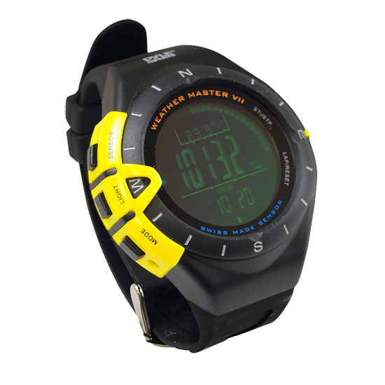 Pyle - PSWWM80 , Sports and Outdoors , Watches , Weather Master VII w/ Weather Forecast, Altimeter, Barometer, Digital Compass, Thermometer