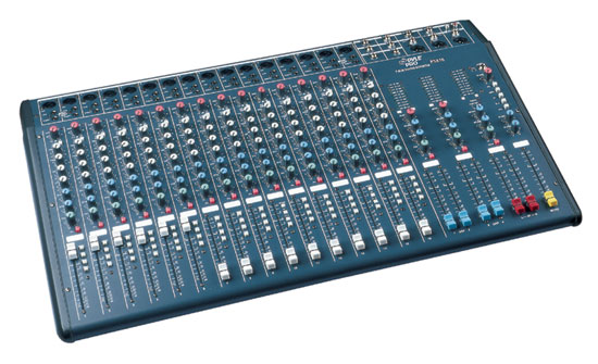 Pyle - PSX16 , DJ Equipment , DJ Mixers , 16 Input Channel Stereo Console Mixer
