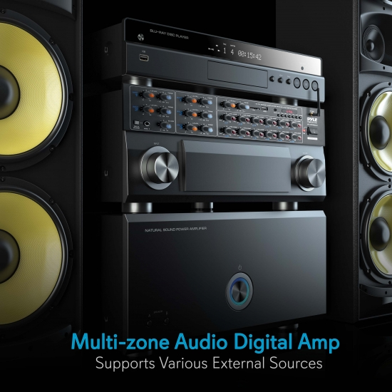 Power Amplifiers Receivers - Home and Office Products