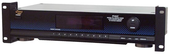 Pyle - PT652T , Sound and Recording , Digital Tuners - Speaker Selectors , Digital PLL Quartz Radio Tuner
