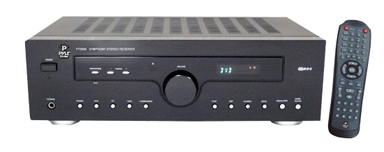 Pyle - PT680A , Home and Office , Digital Tuners - Speaker Selectors , 400 Watts 2 CH AM/FM Multi Source Receiver Amplifier