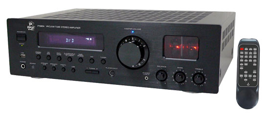 Pyle - PT990A , Home Audio / Video , Home Theater Systems , 1000 Watts AM/FM Multi Source Digital Receiver & Vacuum Tube Amplifier w/USB/IPod Inputs