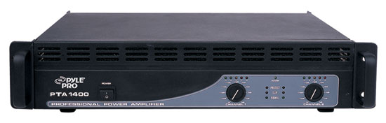 Pyle - PTA1400 , DJ Equipment , Power Amplifiers , 1400 Watts Professional Power Amplifiers