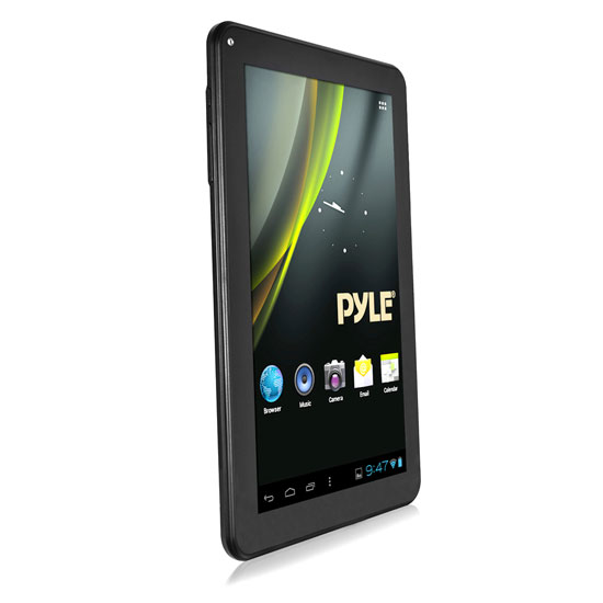 Pyle - PTBL10CEU , Personal Electronics , Tablets , Pyle Astro 10.1'' Android HD Digital Touch-Screen 3D Graphics Wi-Fi Tablet (European Power Adaptor Model)