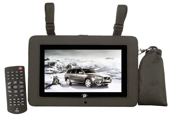Pyle - PTC10LCD , Gadgets and Handheld , Astro Tablet PC , 10.1'' LCD Digital TV with Built-in USB/SD/MP3/MPEG4 For Car/Home Use