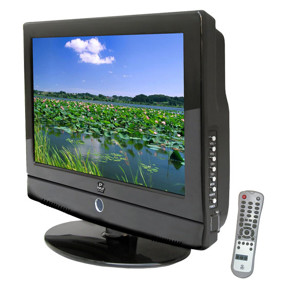 Pyle - PTC155LC , Home Audio / Video , LCD / Plasma , LCD / Plasma TV , 15.6'' Hi-Definition Flat Panel LCD TV