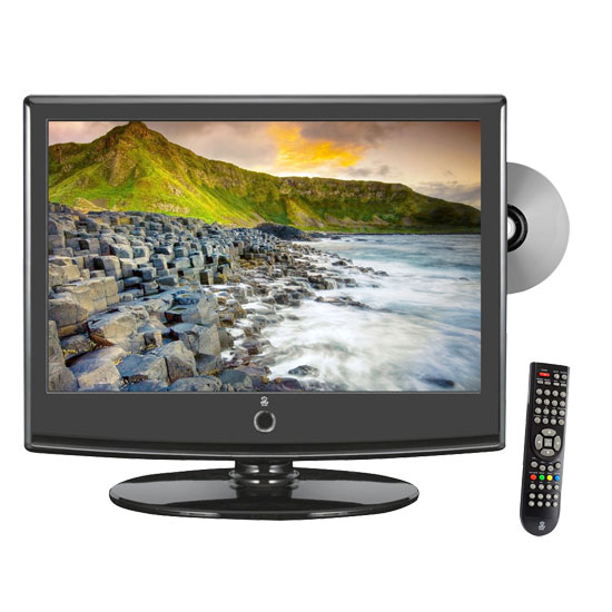 Pyle - PTC158LD , Home and Office , TVs - Monitors , 15.6'' Hi-Definition LCD Flat Panel TV w/ Built-In Multimedia Disc Player