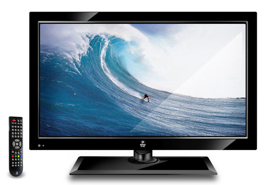 Pyle - PTC197LE , Home Audio / Video , LCD / Plasma , LCD / Plasma TV , 19'' Hi-Definition LCD Flat Panel TV