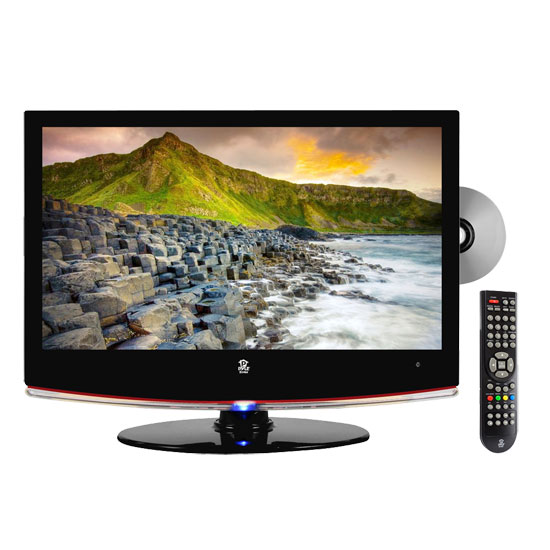 Pyle - PTC20LD , Home and Office , TVs - Monitors , 19'' Hi-Definition LCD Flat Panel TV w/ Built-In Multimedia Disc Player
