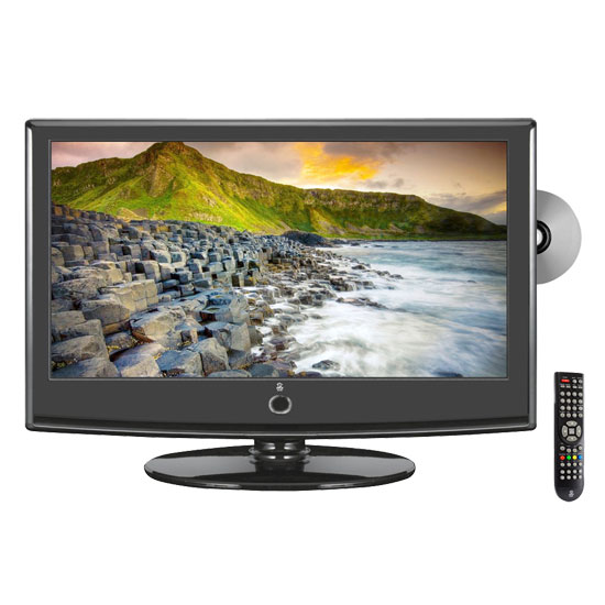 Pyle - PTC23LD , Home and Office , TVs - Monitors , 22'' Hi-Definition LCD Flat Panel TV w/ Built-In Multimedia Disc Player