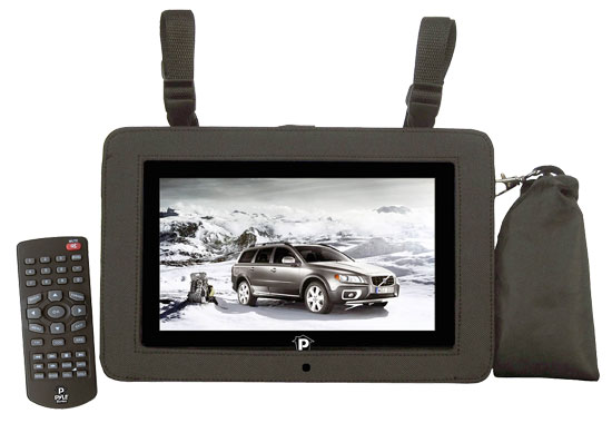Pyle - PTC8LCD , Home and Office , TVs - Monitors , 8'' LCD Digital TV with Built-in USB/SD/MP3/MPEG4 For Car/Home Use