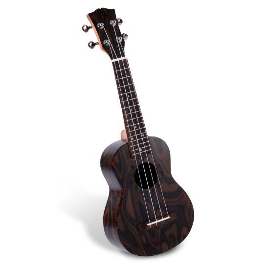 Pyle - PUKT55 , Musical Instruments , Banjo - Ukulele , Soprano Ukulele - Traditional 4-String Ukulele