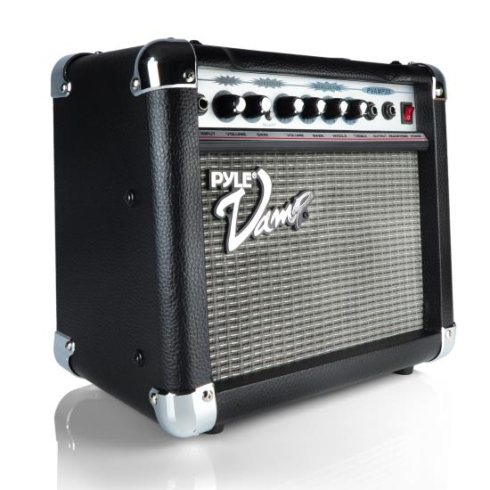 Pyle - PVAMP30 , DJ Equipment , Guitar Amplifiers , 30 Watt Vamp-Series Amplifier With 3-Band EQ and Overdrive