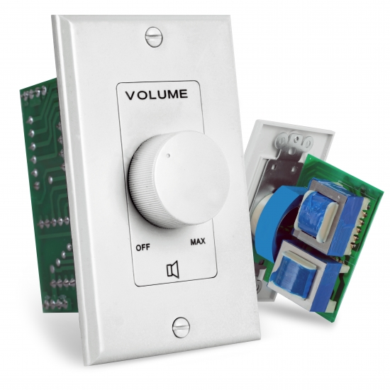 Pyle - PVC1 , Home and Office , Wall Plates and In-Wall Control , Wall Mount Rotary Volume Control Knob