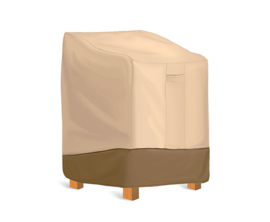"""Pyle - PVCCH26 , Marine and Waterproof , Protective Storage Covers , On the Road , Protective Storage Covers , Pyle PVCCH26 Armor Shield Patio, Lawn, Deck, Terrace, Veranda, Wicker, Outdoor Chair Protective Storage Cover, Universal All-Weather Protection (Fits Chairs with backrests up to  33.5"""" Long x 38"""" Wide x 31"""" Tall)"""