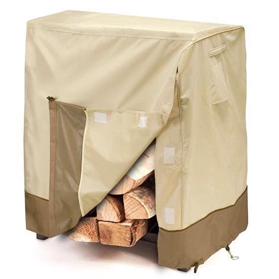 Pyle - PVCLG81 , Marine and Waterproof , Protective Storage Covers , On the Road , Protective Storage Covers , Armor Shield Patio Firewood Log Rack Cover Fits 4' Log Racks 48''L x 24''H x 42''H