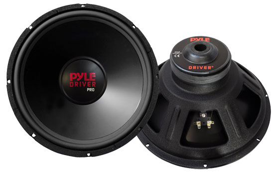 """Pyle - PW158 , On the Road , Vehicle Subwoofers , 260 Watt American Made Pyle Driver Pro 15"""" 8 Ohm Subwoofer"""