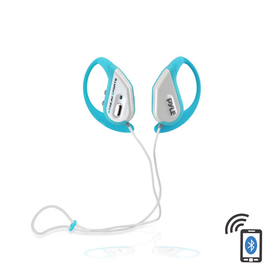Blue iphone earbuds - iphone sports earbuds