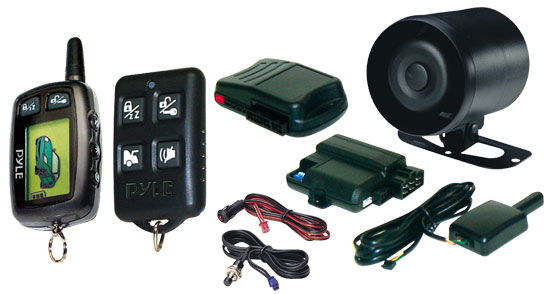 Pyle - PWD501 , Car Security , Remote Start/Alarm Systems , LCD 2-way Remote Start/Security System
