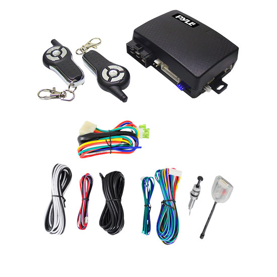 Pyle - PWD603RS , Car Security , Remote Start/Alarm Systems , 4-Button Remote Start/Door Lock Vehicle Security System