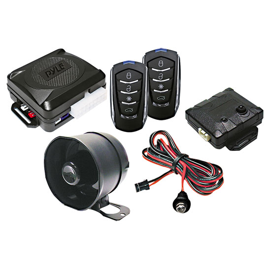 Pyle - PWD701 , Car Security , Remote Start/Alarm Systems , 4-Button Car Remote Door Lock Vehicle Security System