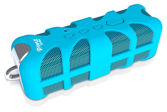 Pyle - PWPBT60BL , Home Audio / Video , i-Pod - MP3 Mini Speakers , Sound Box Splash Rugged and Splash-Proof Bluetooth Marine Grade Portable Wireless Speaker (Blue)