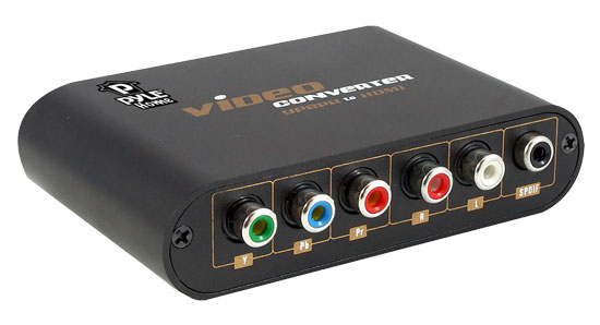 Pyle - PYPBHD40 , Home and Office , Cables - Wiring - Adapters , Component Video & Audio/Spdif To HDMI Converter