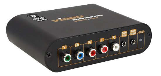 Pyle - PYPBV760 , Home Audio / Video , LCD / Plasma , HDMI Cables / Adapters , Component Video TO VGA Converter