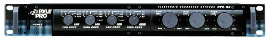 Pyle - PYX3X , Sound and Recording , Equalizer - Crossover  , 3-Way Active Stereo Crossover Network