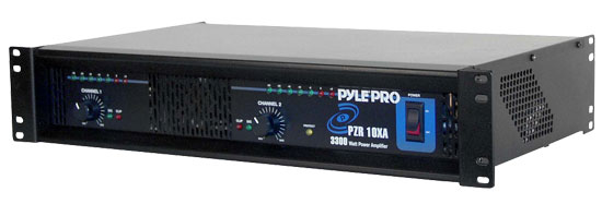 Pyle - RBPZR10XA , DJ Equipment , Power Amplifiers , 3300 Watts Professional DJ Power Amplifier